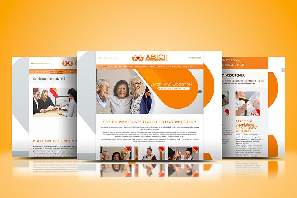 Tauruslab: Realizzazione sito web ABICI ASSISTENZA