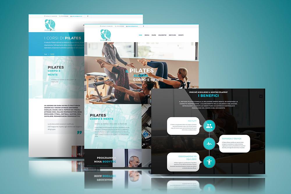 Tauruslab: Realizzazione sito web STUDIO BIOBENESSERE
