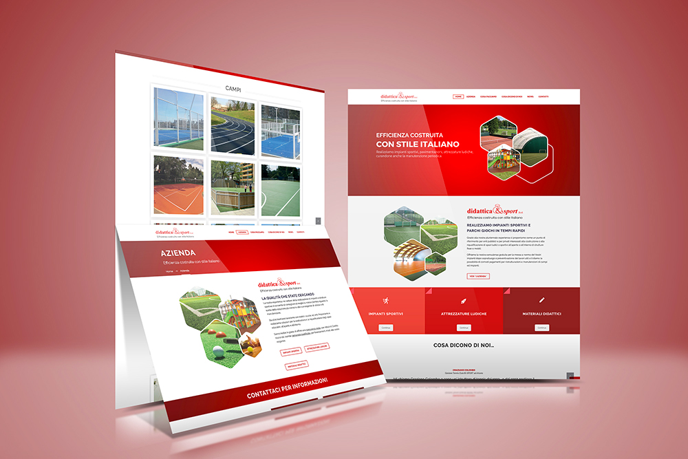 Tauruslab: Realizzazione sito web DIDATTICA&SPORT