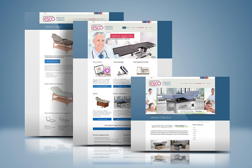 Tauruslab: Realizzazione sito web ESCO