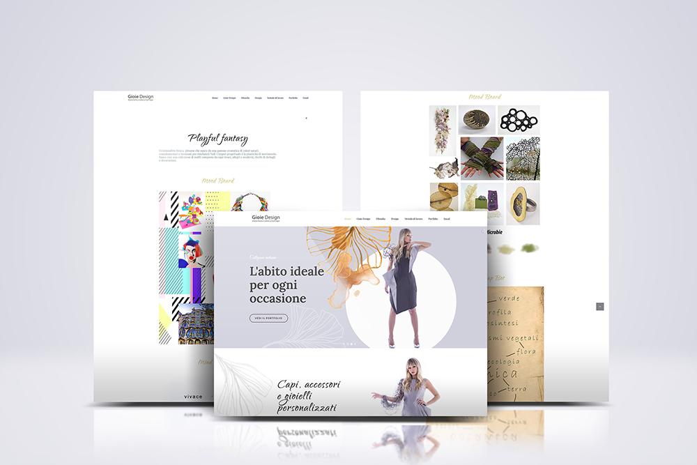 Tauruslab: Restyling sito web GIOIE DESIGN