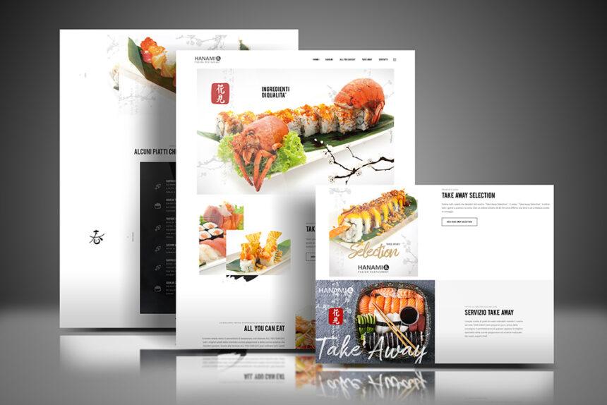 Tauruslab: Realizzazione sito web HANAMI Fusion Restaurant
