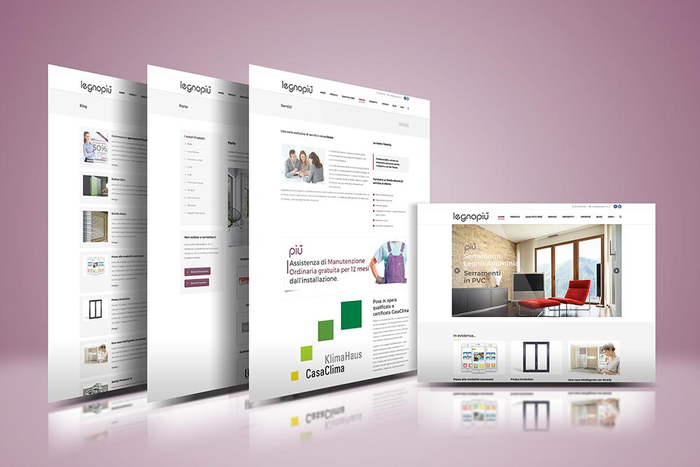 Tauruslab: Realizzazione sito web LEGNOPIU