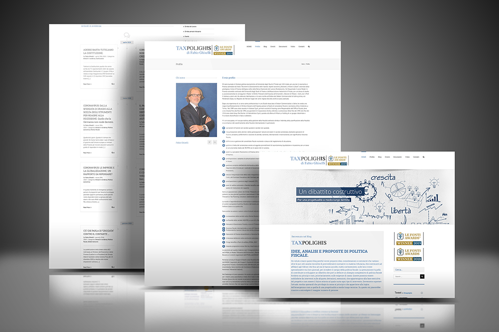 Tauruslab: Realizzazione sito web TAXPOLIGHIS di Fabio Ghiselli