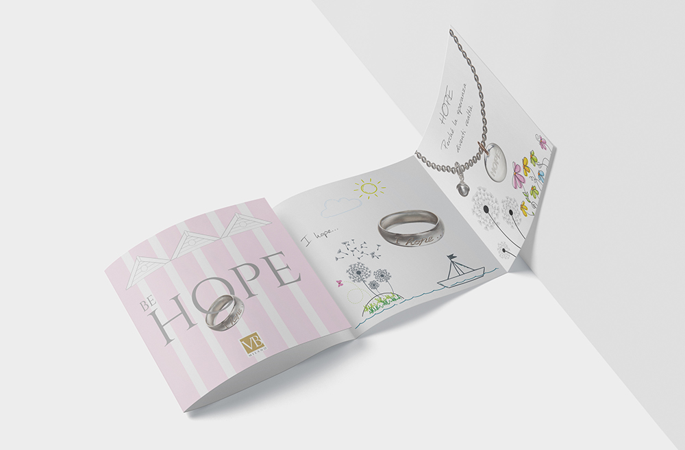 Pieghevole gioielli HOPE