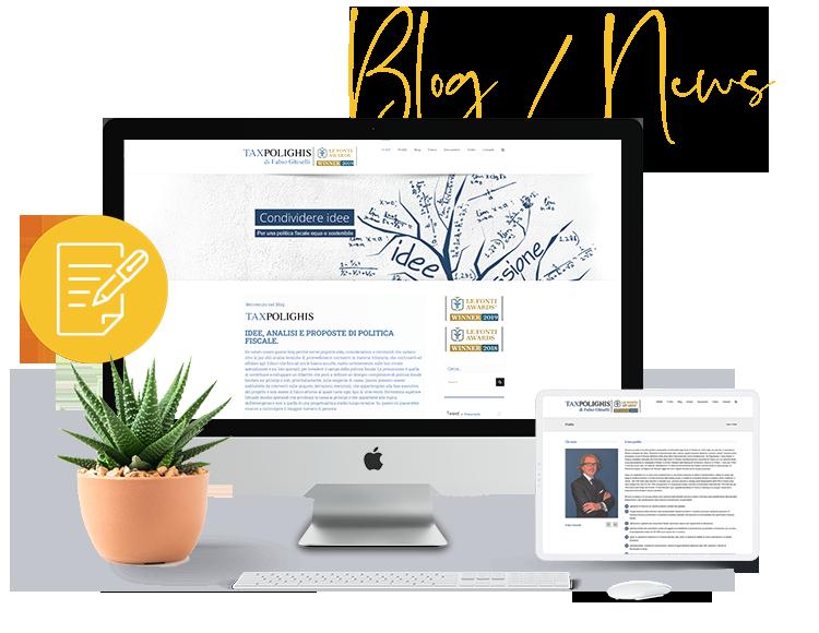 Realizzazione blog e News