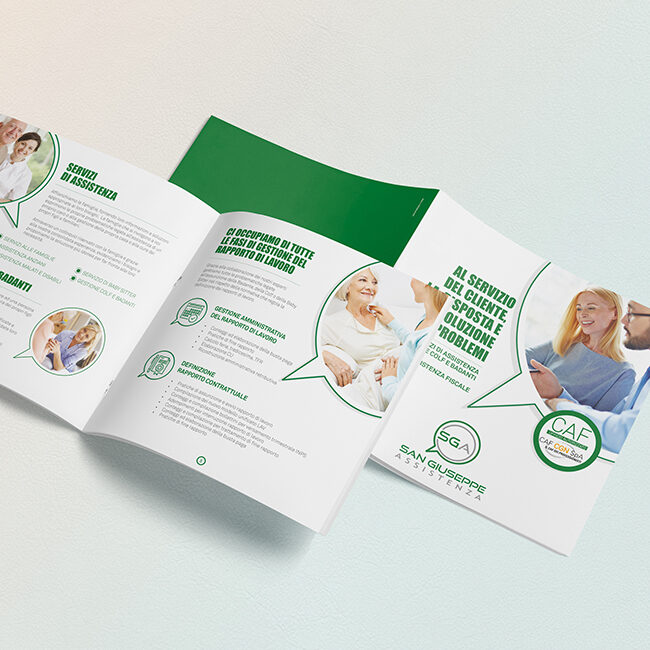 Brochure presentazione San Giuseppe Assistenza