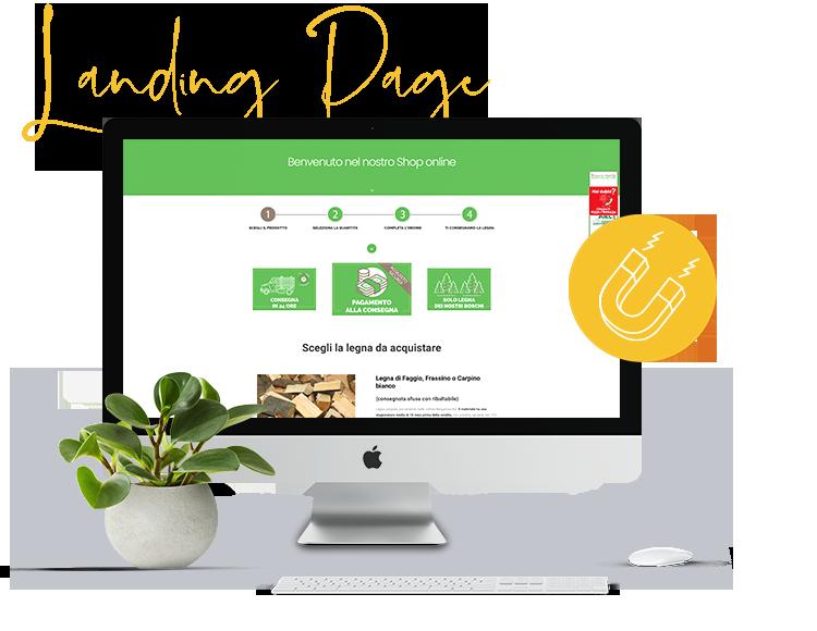 Realizzazione Landing Page