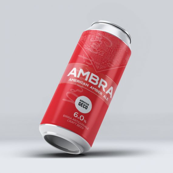 Packaging: Lattina Ambra Birificio GECO