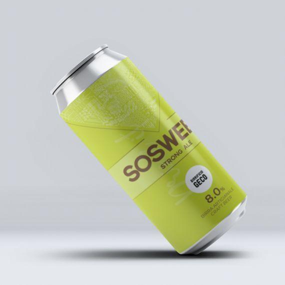 Packaging: Lattina Birra Sosweet Birrificio GECO