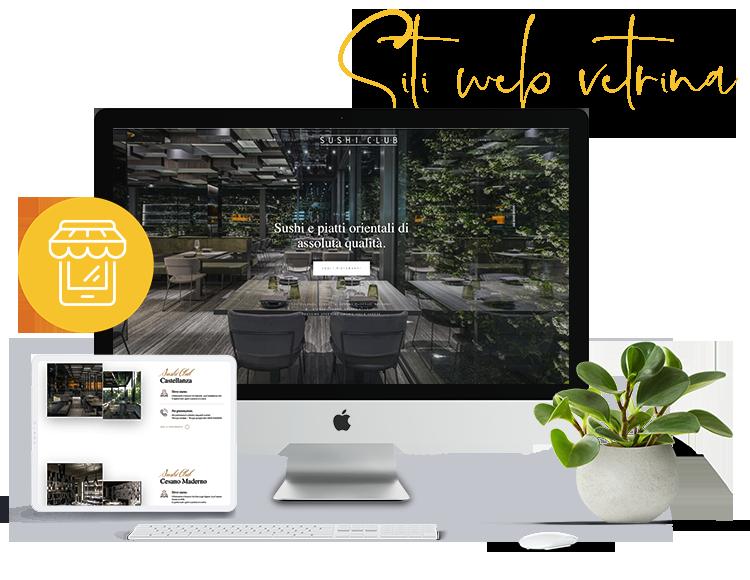 Realizzazione Siti web vetrina