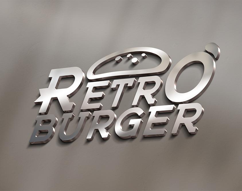 Realizzazione logo Retro Burger