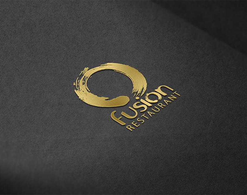 Realizzazione logo Fusion Restaurant