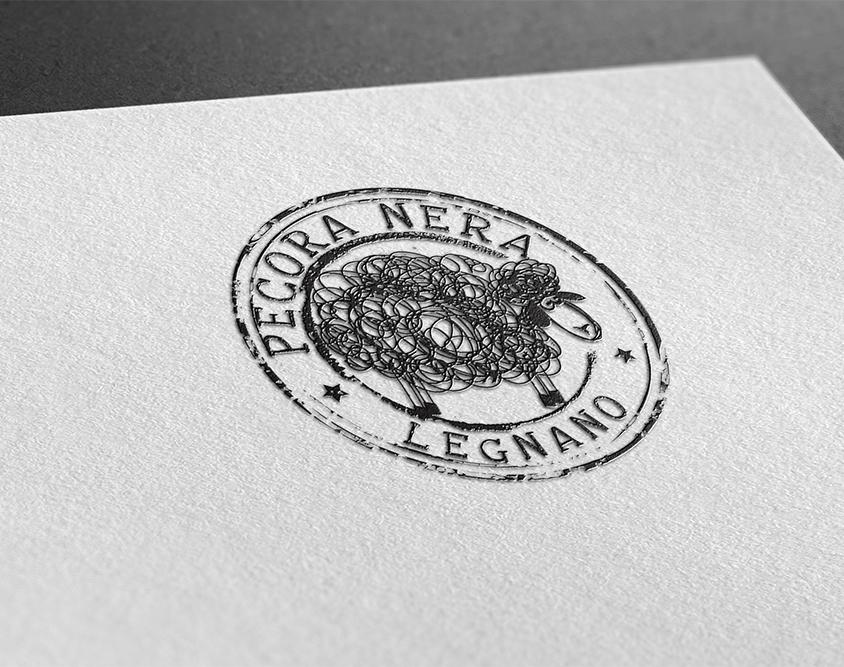 Realizzazione logo Pecora Nera