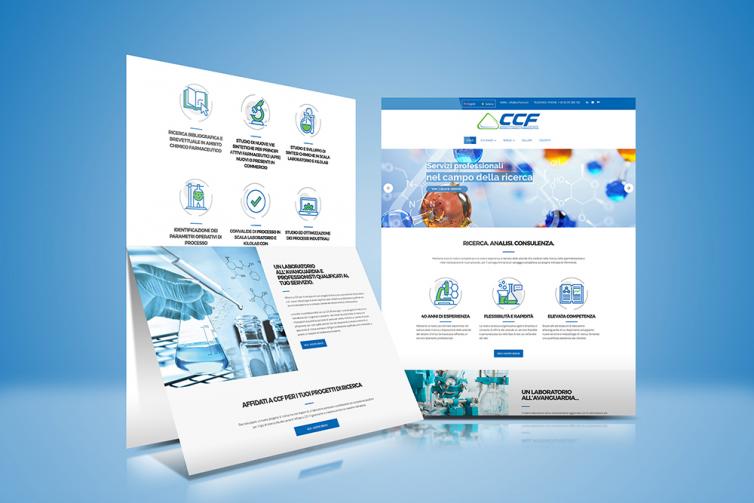 Sito web CCF Laboratorio di Ricerca