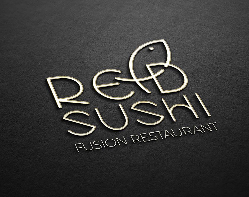 Realizzazione logo Red Sushi