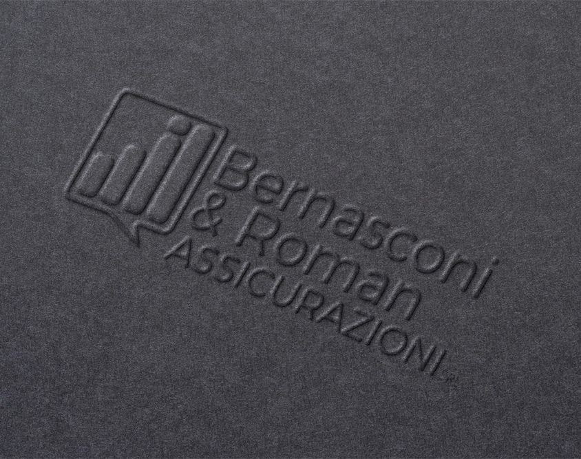 Realizzazione logo Bernasconi & Roman Assicurazioni
