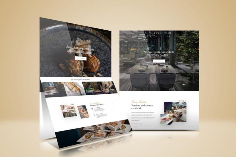Sito web Sushi Club