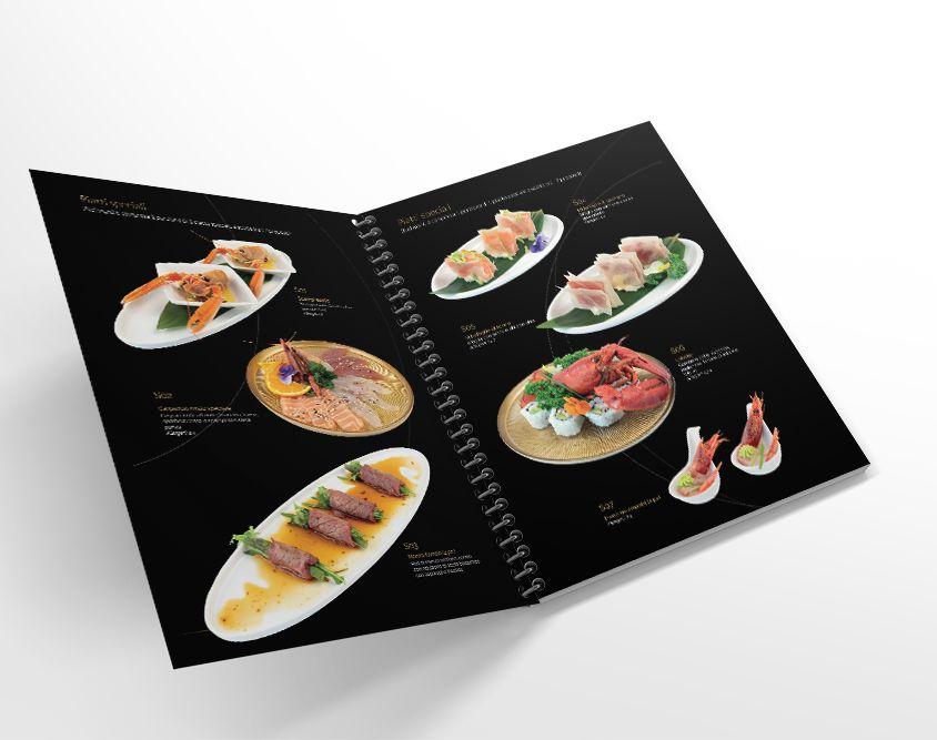 Menu Kaito Sushi Novara